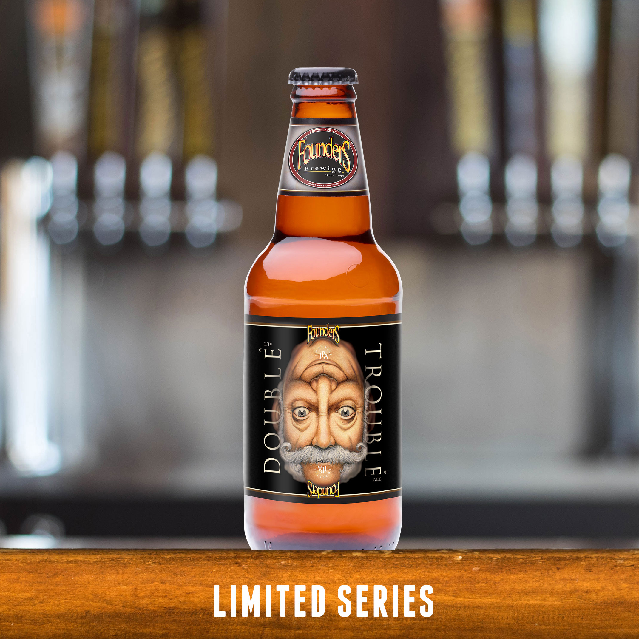Founders Double Trouble limited series bottle