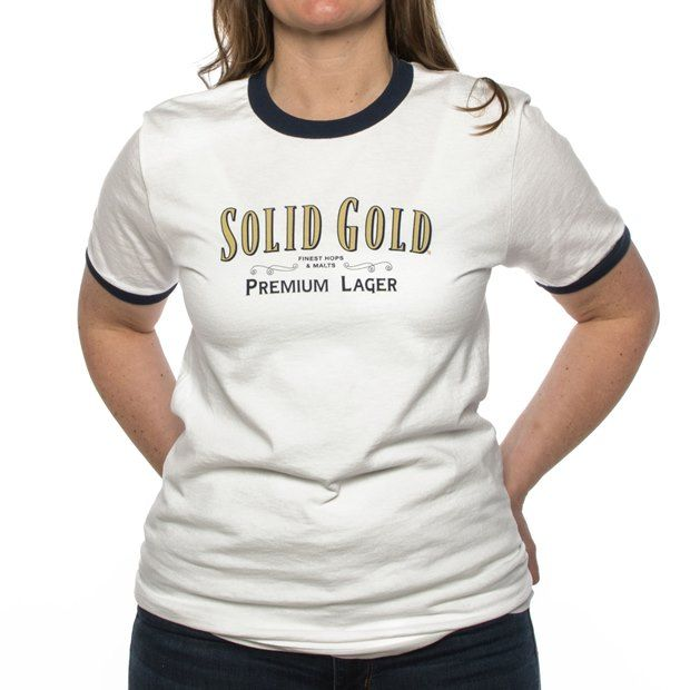 Founders Solid Gold white shirt