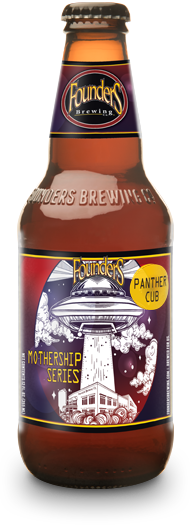 Bottle of Founders Mothership Series Panther Cub