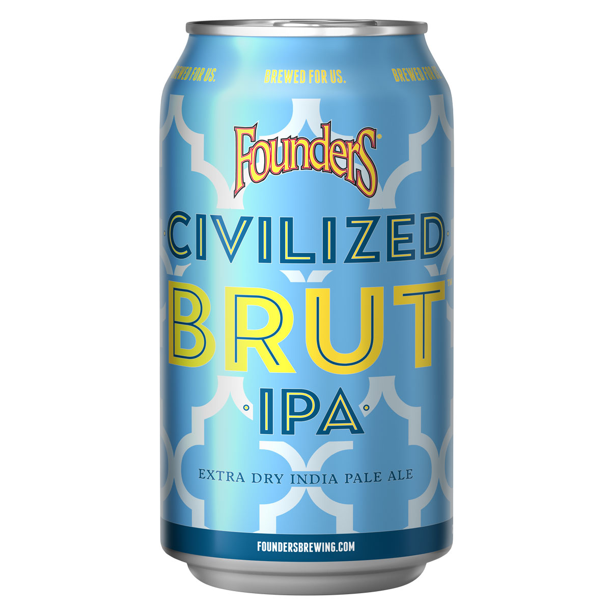 Can of Founders Civilized Brut IPA